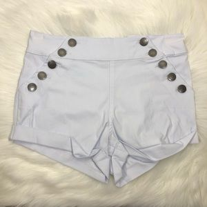 "Almost Famous 29"" White Shorts"